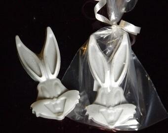 Bunny Party Favor Soaps,Vegan,Guest Soap,Shower Favor, Set of 25