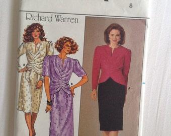 Misses Size 8 Top & Skirt. Butterick #3494 Richard Warren