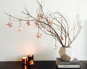 Star Ornaments. Blush