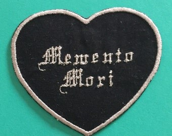 Memento Mori Iron On Patch