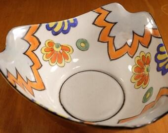"""Beautiful 50's Lusterware Bowl, Japan, 10"""" wide"""