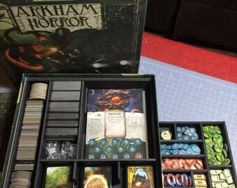 Arkham Horror boardgame foam custom insert