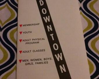 Vintage 1970-1971 Seattle YMCA Program Booklet