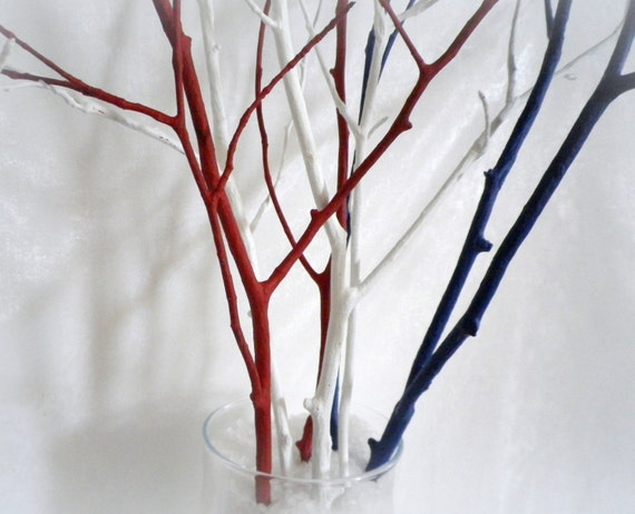 Https Www Etsy Com Uk Listing 398572043 Tree Branches Home Decor Branches 4th Of