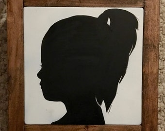 Custom Made Silhouette Aproximatly 7X7