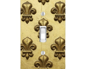 Light Switch Cover - Fleur de Lis-switchplate-Wall Decor-Home Decor-Bedroom Decor-Bathroom Decor-Kitchen Decor-Toggle-Rocker-Outlet