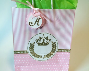 Princess Goodie Bag | Favor Bags. It comes with 10 bags.