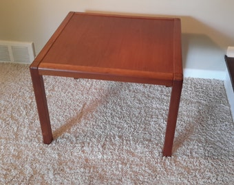 Mid Century Danish Teak Side Table