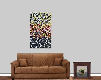 Original Modern Abstract Acrylic Painting OOAK