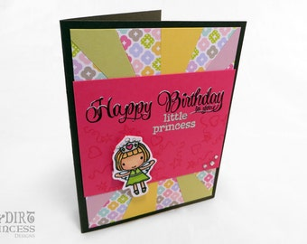 Birthday Card - Happy Birthday Little Princess