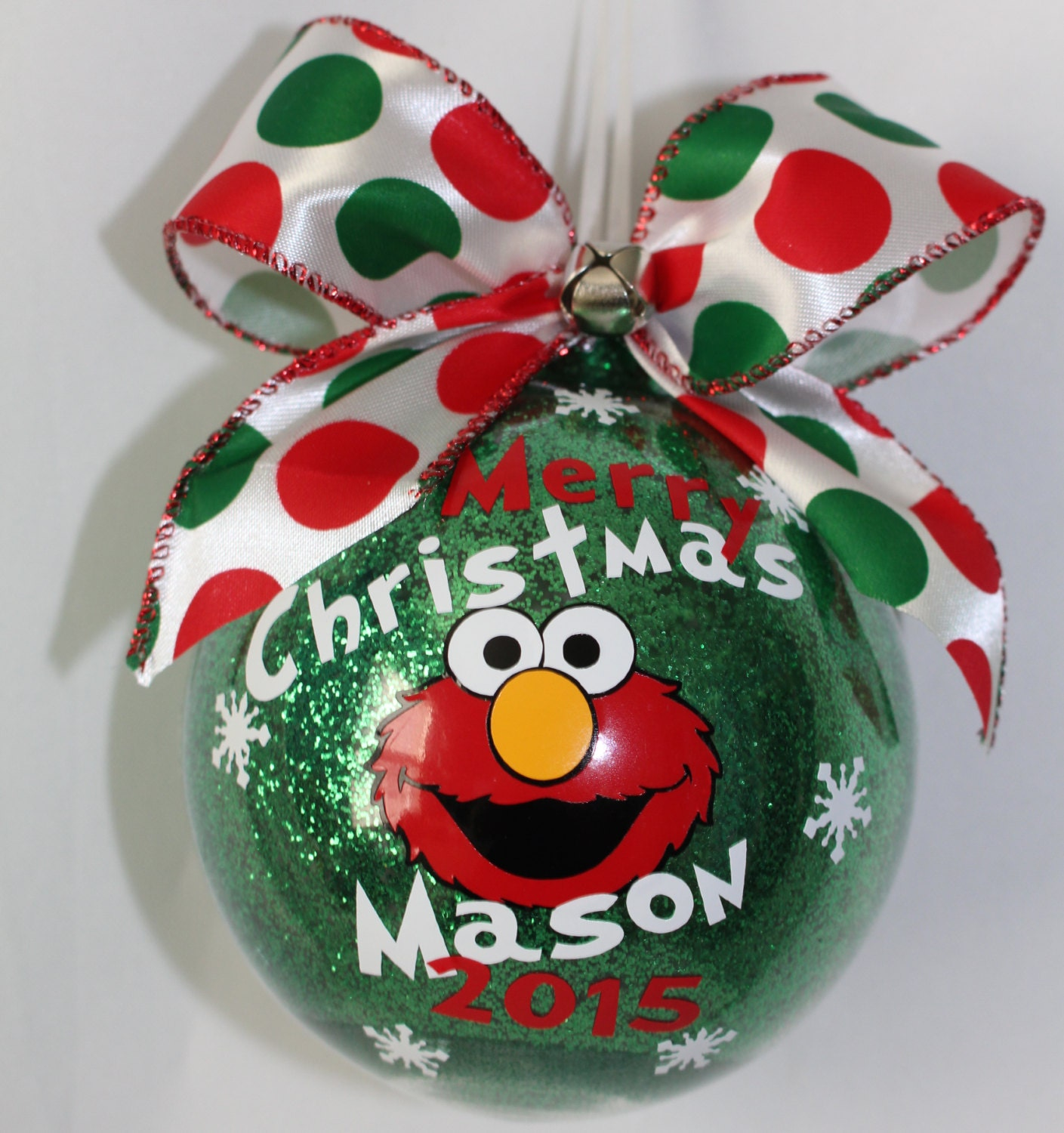 Elmo Sesame Street Ornament Elmo Ornament With Year And Name