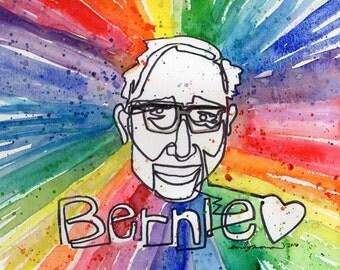 Bernie Love PRINT