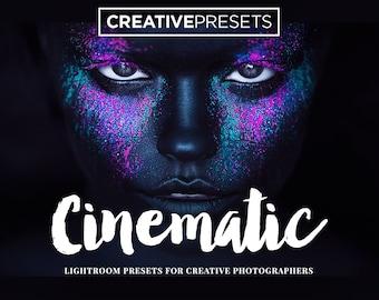 20 Cinematic Presets for Adobe Lightroom - Creative Lightroom Presets for Photographers