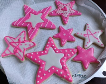 Personalized Star Cookie Favors
