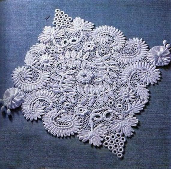 irish crochet rugdetailed tutorialirish crochet