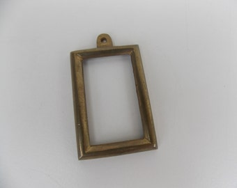Vintage small frame brass frame - adorable picture frame, photo frame, home decoration, inexpensive gift
