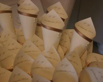Custom decorated with cones