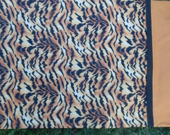 Tiger Print Pillowcase