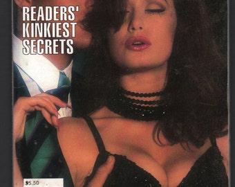 Mature Vintage Best Of Penthouse Forum Letters Mens Girlie Pinup Mini Magazine : No. 36 March 1996