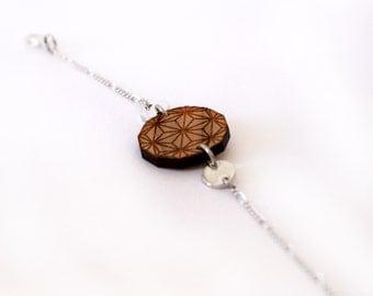 Wood Bracelet NORI BEWÖÖD