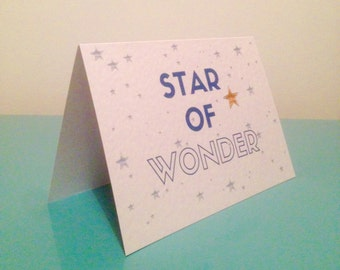 Star of Wonder - blue