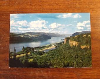 GIANT Vintage Postcard, UNUSED, Columbia River Gorge, Ray Atkeson