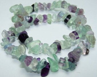 Gifts for Employees, Fluorite Bracelet w/ Reiki/ Rainbow Fluorite Stretch Bracelet