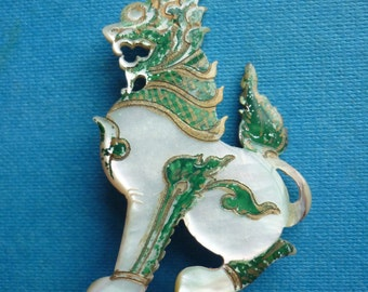 1930s Orient Inspired Brooch