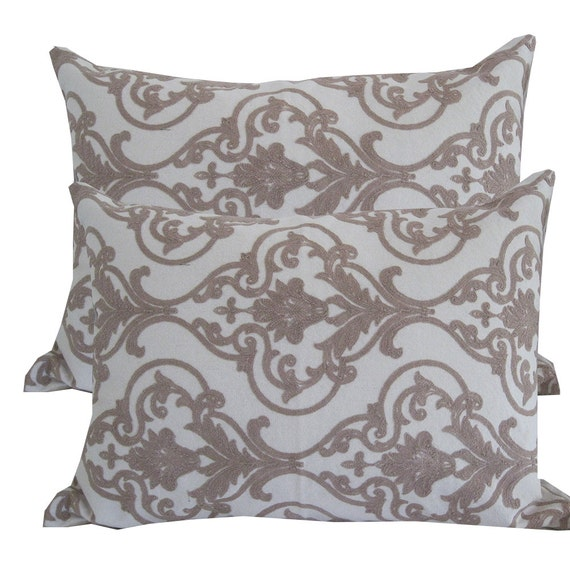 Decorative Bed Pillows Shams : Items similar to Cotton Pillow Shams -Decorative Pillow for Bed - Pillow Bed - Pillow Cases ...