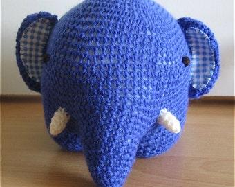 Crocheted elephant - Amigurumi