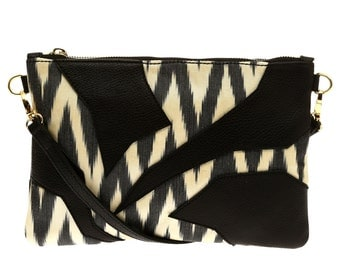 BOHCHA Crossover İkat Bag with Leather