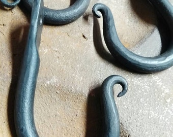 Hand Forged J - Hook