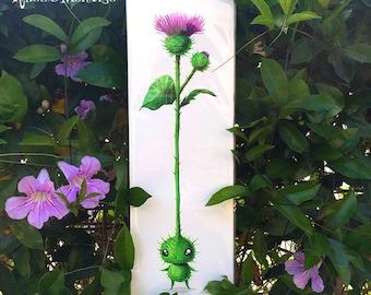 NEW Peculiar Plant Print 'GREAT BURDOCK' by Rhode Montijo