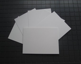 ACEO Artist Trading Card Blanks 110 lb High Quality Paper ATC, Artist Blank Paper Cards Free Shipping