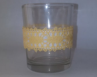 12 Country Lace Votive Candle Holders