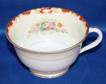 Vintage Noritake Teacup Made in Occupied Japan 1945 - 1952 Tea Cup