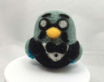 Weeble Wobble inspired Brewster from Animal Crossing