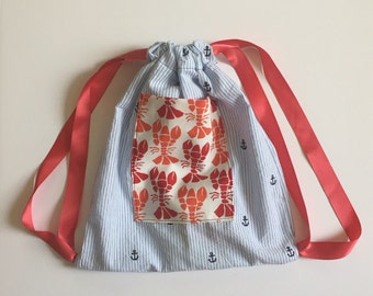 Sewing 102 Draw String Bag, June 10th 2016