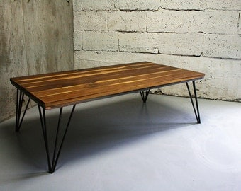 LIGHT TABLE /// oak, steel, coffee table, home and office, nice design as always from Nortre