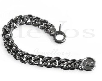 Ladies On Curb Bracelet