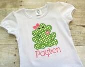 Summer shirts for girls - Frog shirt girls -Toddler shirt girls - Little girl shirts - Embroidered shirt girls - Frog birthday -custom girl