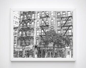 New York Print Decor, New York Wall Print, New York Print, New York Drawing, New York Skyline, New York Poster,  Artwork