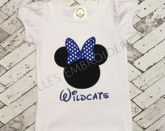 Wildcat Minnie tee!