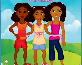 Brianna, Maya & Jordan Poster (11x17)