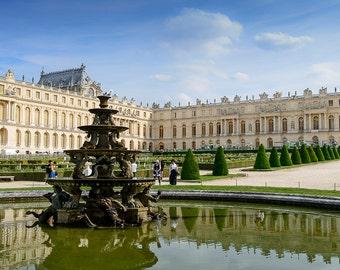 Gardens of Versailles, Paris decor, Paris print, digital wall art, digital print, instant download, printable art, wall decor, home decor