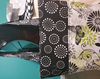 Butterfly Reversible Tote