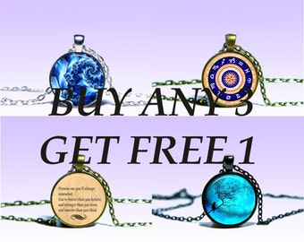 Fall Sale Special Sale Buy Any 3 Get 1 Free  NECKLACE Fall Sale Special Jewelery Charm Pendant for Him or Her