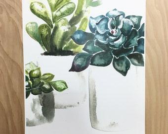 Succulent print (3)