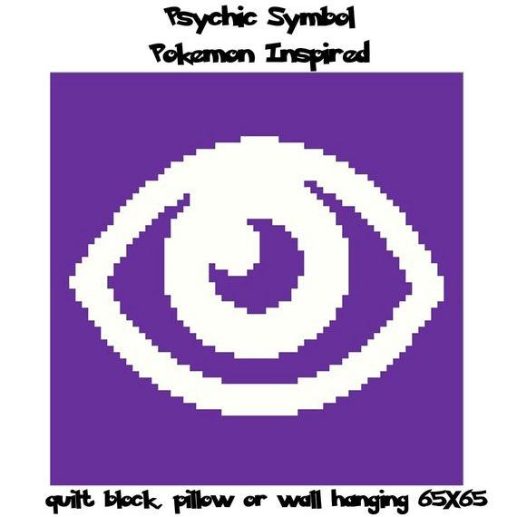 Pokemon Inspired Psychic Symbol Graph Pokemon by ...