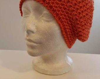 Ladies Crochet Slouchy Beanie